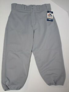 Gray size XX Large 42-44 FREE s//h NWT Majestic  Deluxe  Baseball softball Pants