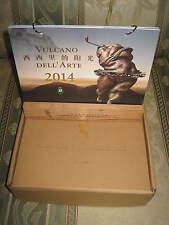 """Collezionismo/Calendario 2014 """" LE SCULTURE DI HONG FEI """" L'Anno Del Cavallo"""