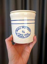 Miali Pottery Lidded Crock - 1/8 gallon sizeContainer El Monte CA 1906 Jug Vtg