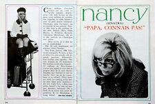 Article papier 6 pages NANCY SINATRA octobre 1966 P1025560