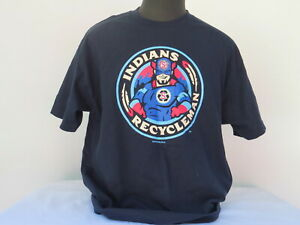 Spokane Chiefs Baseball Team T-shirt - Recycle Man Graphic - Men's XL !!