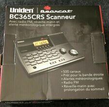 Uniden Police Scanner Bc365Crs Base Radio 500 Ch Fm Weather Whistler (ar)