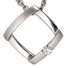 Unbehandelte Anhänger aus Platin mit Diamanten