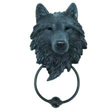 Door Knocker Wolf Dark Guardian Fantasy Gothic Medieval Wall Dungeon Decor