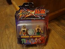 2012 DIAMOND SELECT MINIMATES-STREET FIGHTER x TEKKEN--ZANGIEF vs MARDUK FIGURES