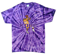 Tie-Dye Kobe Bryant The Black Mamba AIR KOBE Los Angeles Lakers T-Shirt
