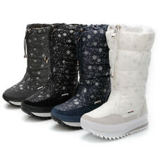 Fashion Winter Women Boots Top Pull On Waterproof Plush Snow Shoes Sneakers