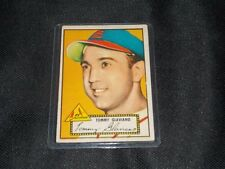 GOOD CONDITION SHARP CORNERS 1952 Topps #56-Tommy Glaviano-SIGNATURE CARD RARE