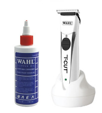 Wahl Clipper Oil 4oz and Wahl T-Cut Clipper