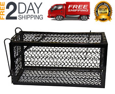 Small Animal Live Humane Cage Trap Cat Groundhog Rabbit Rodent Squirrel Mice