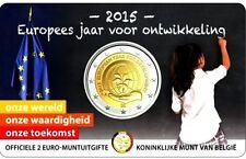 Pièces euro de Belgique pour 2 euro année 2015
