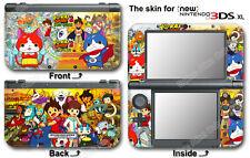 Yo-kai Watch Yokai Amazing Skin Sticker Decal Cover for NEW Nintendo 3DS XL