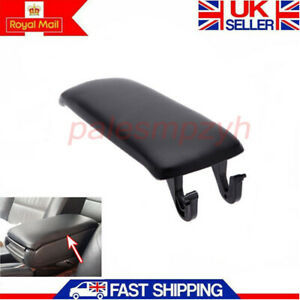 Fits for Audi 00-06 A4 S4 A6 C5 Allroad Armrest Center Console Lid Cover Black