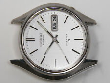 Vintage Mens Seiko Day Date Wrist Watch 17J 6039 6309A 8239 832L Stainless Steel