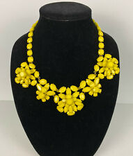 NWT Authentic J Crew Lemon Crystal necklace Yellow Retail $138 E8901