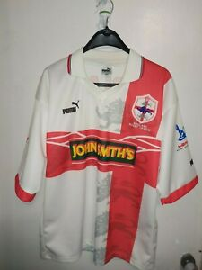 ENGLAND RUGBY UNION JERSEY SHIRT PUMA 1995/1996 WORLD CUP SIZE - M
