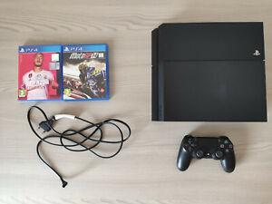 Sony Playstation 4 500gb nera + Controller originale + 2 giochi