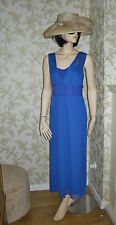 20 BLUE BOW DRESS BY SIMPLY BE STRETCH COMFORT WEDDING PARTY SUMMER HOLIDAY NEW