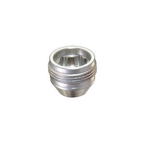 "McGard 24013 4 Lug Nut Lock Set Silver M12 x 1.25 Pitch 0.775"" Length w/ Key"