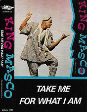 King Masco Take Me For What I Am CASSETTE ALBUM Reggae Soca Calypso Emma 1003