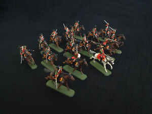 PRO-PAINTED Revel 2573 Austrian Dragoons 7 Years Wars 1/72 A