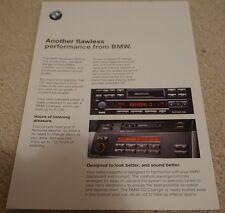 BMW Audio/Carta di sistema audio/illustrativo/installazione di un CD Garrard 1999 2000