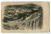 CPA 38 Isère Ligne de la Mure Viaducs de Loulla