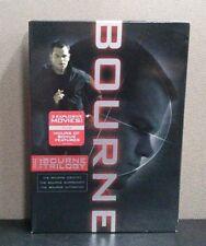 The Bourne Trilogy (3 DVD Set W/Slipcover)   LIKE NEW