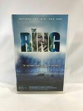The Ring Movie VHS Video Tape Universal Horror