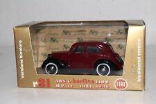 BRUMM DIECAST #R31 1937-1939 FIAT 508C BERLINA, 32HP, 1:43, EXCELLENT, BOXED