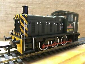Bachmann 30-130 BR Class 03 0-6-0 MoD 2144 Western Waggoner Shunter 6 Pin Ready