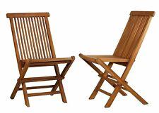 Ala Teak Wood indoor-outdoor Folding Art Chair (Set of 2 chairs)