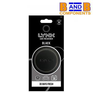 Lynx Black Gel Can Car Air Freshener Fragrance Scent A1670