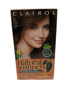 Clairol Natural Instincts Permanent Hair Color 12 Light Golden Brown (2-2-5)