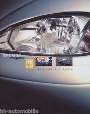 6014REN Renault Megane Prospekt 2001 6/01 spanische Ausgabe brochure folleto