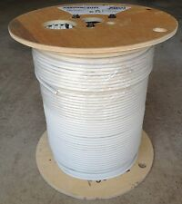 CommScope Plenum 1000 ft RG6 2281V Coaxial Cable 18 AWG 3GHz Tri-shield