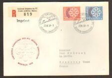 EUROPA / CONFERENCE SUISSE / PREMIER JOUR 1959