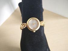 Vintage Cassant Designer Ladies Quartz Analog Gold Tone Watch