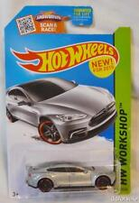 Tesla Model S 1/64 Scale diecast Model Car  from HW Workshop by Hot Wheels