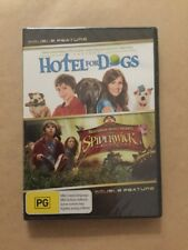 HOTEL FOR DOGS / SPIDERWICK DOUBLE FEATURE DVD Pre Owned Never Opened NEW