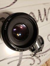 Canon Ef 50mm F/1.8 STM Focal Length Lens