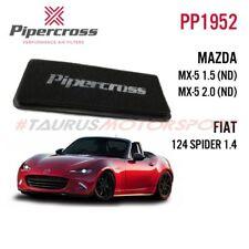 Filtro aria sportivo Pannello Pipercross Mazda MX-5 ND 1.5 2.0 Fiat 124 + Abarth