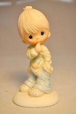 Precious Moments: Smile God Loves You - E-1373B - Boy Figurine