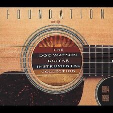 Foundation: Doc Watson Guitar Instrumental Collection, 1964-1998 by Doc Watson (