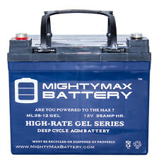 Mighty Max 12V 35Ah GEL Battery for Yamaha Rhino Utility Vehicle UTV