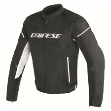 Dainese D-Frame Tex Jacket Black White - All Sizes! - Fast Shipping
