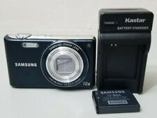 Samsung PL Series PL210 14.2MP 10X Optical Zoom Digital Camera - Blue *GOOD*