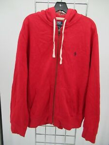 K0047 Polo Ralph Lauren Men's Full-Zip Hoodie Sweatshirt Size L