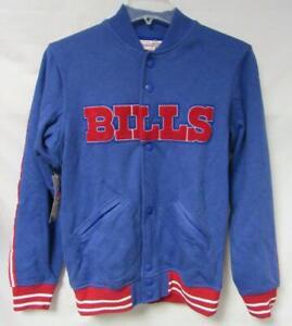 Mitchell & Ness Buffalo Bills Mens Size M L or 4XL Jacket MSRP $150 B4 121