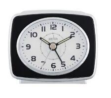 Acctim Retro II Alarm Clock With Light & Luminous Hands With Snooze Function